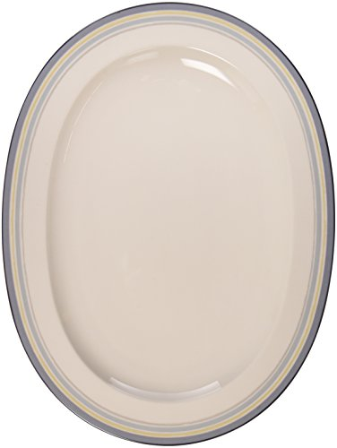 Noritake Java-graphit (Noritake Java Graphite Swirl Oval Platter, 14-inches by Noritake)