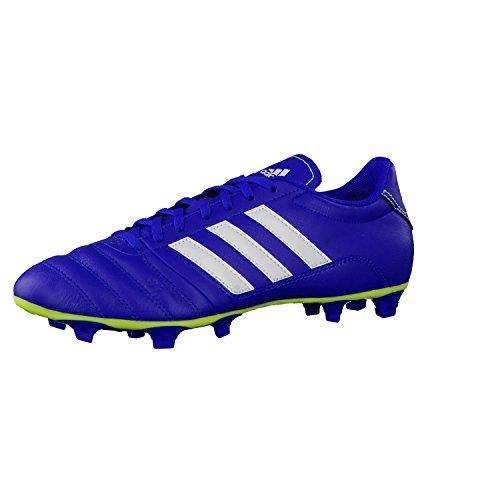 adidas , Chaussures de foot pour homme 40 Bleu / blanc / citron vert