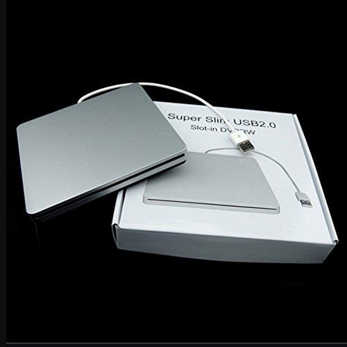 Leoboone-Laptop-Typ Super Slim USB 2.0-Steckplatz im externen DVD-Brenner Gehäuse für Externe Laufwerke (Externe Powered Dvd-laufwerk)