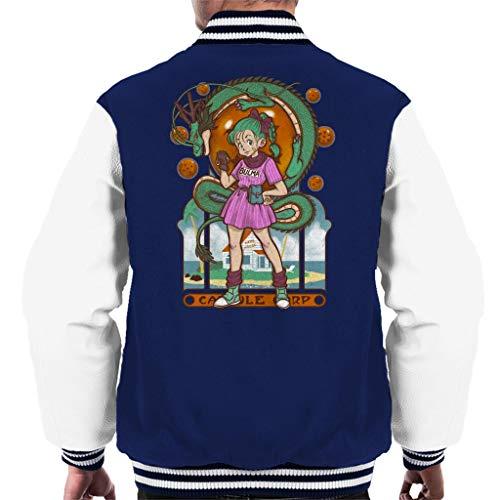 Dragon Ball Z Bulma Shenron Men's Varsity Jacket