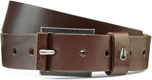 Preisvergleich Produktbild Nixon Herren Americana Slim Belt II,  O / S,  Dark Brown Large