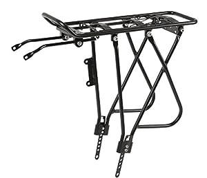 transportín económico: rack aluminio screw-on negro iii