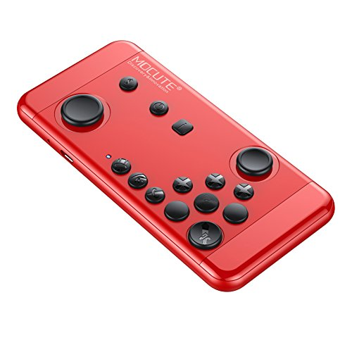 mocute-055Bluetooth Wireless Game Controller Andrews für Apple King Glory Chick New Tour Air Upgrade Rot