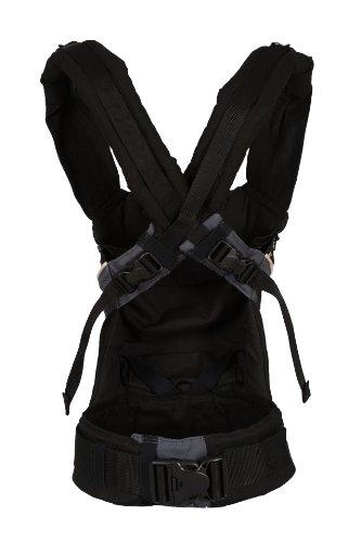 Manduca Babytrage 222-02-60-000, Bauch-, Rücken- und Hüfttrage, schwarz - 6
