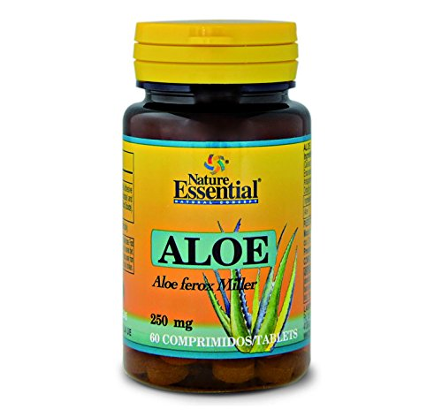 Nature Essential Aloe Vera - 60 Tabletas