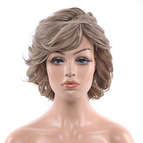 FH JIAFA - Perruque de Haute qualité Perruque Naturelle de Haute qualité pour Femmes