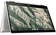 HP - PC Chromebook 12b-ca0001nl Convertibile, Intel Pentium Silver N5000, RAM 4 GB, eMMC 64 GB, Sistema Operat