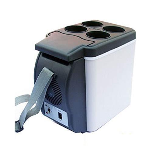BUSUANZI Kleiner kühlschrank, tragbarer Auto kühlschrank mit doppeltem verwendungszweck, 6l kühler wärmer, geeignet für Camping fernreisen Treiber ect,A (Mini-kühlschrank Tabelle,)