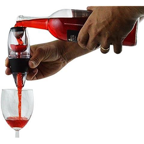Aeratore per vino Decanter Set w/stand–Rendere più sapore intenso vino rosso