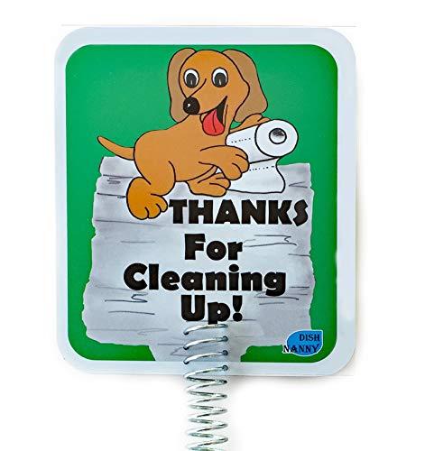 Neue-Dog Poop Entsorgung Yard Schild. Sagen Sie Ihren Nachbarn durch für Reinigung bis | Bitte kein Poop Hund Schild hält Hunde und Haustiere von Pooping oder Peeing auf Ihrem Rasen oder Yard -