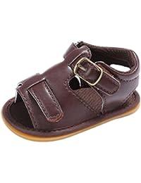 6816bc20b5c143 Janly Baby Kleinkind Kinder Mädchen Jungen Kinderbett Kleinkind  Neugeborenes Sandalen Schuhe