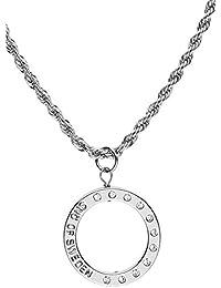 SNÖ of Sweden Damen-Halskette Versilbertes Metall Hege neck 90 cm silber 308 -0111001 0d7ea03525295