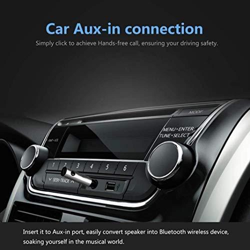 Aux-In ricevitore Bluetooth Adattatore audio V 4.1 wireless e portatile per il telefono cellulare dellautomobile