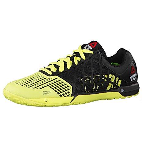 Reebok  R Crossfit Nano 4.0, Baskets pour femme Noir/jaune