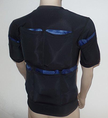 Fett Weg Wit Kälte - Kraftvolles Verschlankendes T-Shirt 5400G - Größe XL - Eis-Packs Nicht Inbegriffen