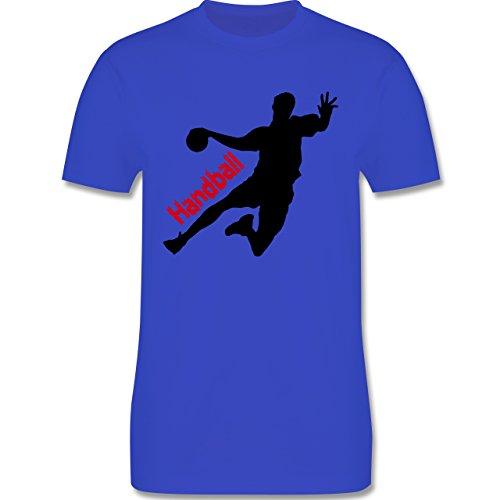 Handball - Handball - Herren Premium T-Shirt Royalblau