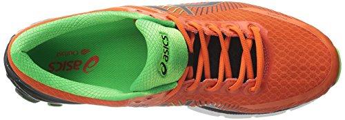 Asics Mens Gel-Kinsei 6 Running Shoe Fiesta/Black/Green Gecko