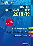Top'Actuel Droit De L'Immobilier 2018-2019...