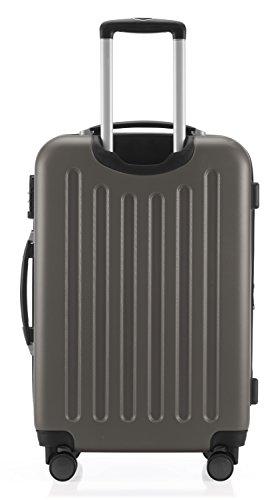 HAUPTSTADTKOFFER - Spree - 3er Koffer-Set Trolley-Set Rollkoffer Reisekoffer Erweiterbar, TSA, 4 Rollen, (S, M & L), Graphite,235 Liter - 8
