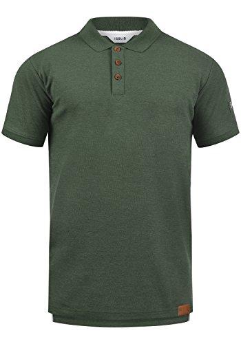 !Solid TripPolo Herren Poloshirt Polohemd T-Shirt Shirt Mit Polokragen, Größe:L, Farbe:Climb Ivy Melange (8785) -