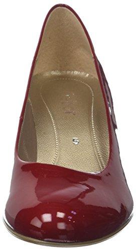 Gabor Damen Basic Pumps Rot (cherry)