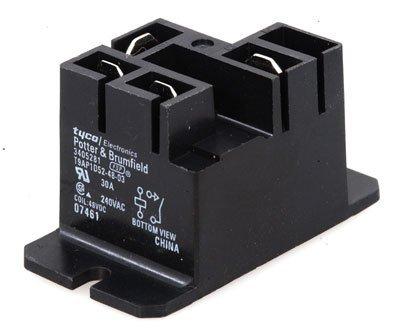 relaypowert9ap1d52-48-3single-pole-single-throw-spst-no30a48vdcpanel-mount-by-potter-brumfield-tyco-