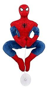 Joy Toy 1200048-Spiderman Peluche con Ventosa para el Ventana, Auto, 25cm