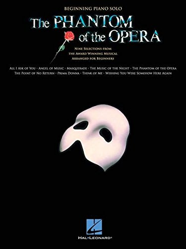 The Phantom of the Opera (Piano Solo Songbook)