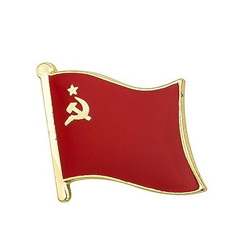 UdSSR Anstecknadel mit Hammer und Sichel, aus Metall -