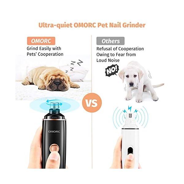 OMORC Electric Dog Nail Grinder 2
