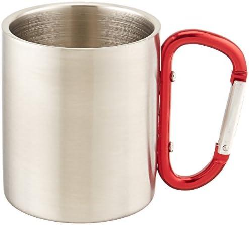 Outdoor RX acciaio INOX moschettone tazza, 05-1200, rosso, 8 8 8 Oz.   Lascia che i nostri beni escano nel mondo    Una Grande Varietà Di Merci  5f206b