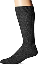 HUGO BOSS Mens Boot Sock (Cotton), Black, Sock Size: 10-13/Shoe Size:9-11
