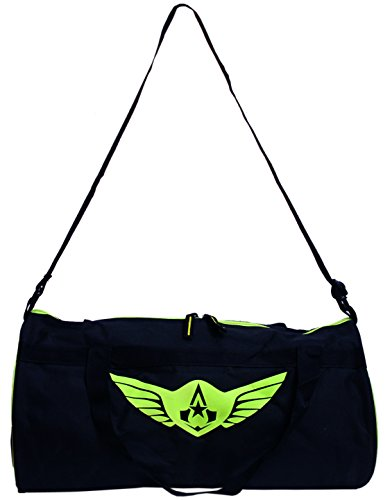Auxter-Polyester-40-Ltrs-Black-Gym-Bag