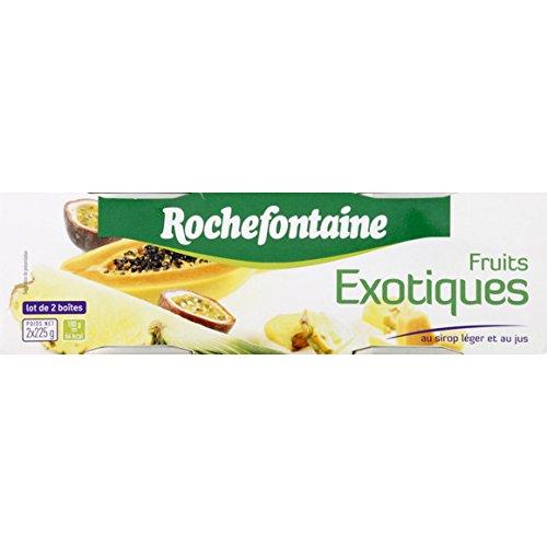 rochefontaine Fruits exotiques au sirop léger et au jus - ( Prix Unitaire ) - Envoi Rapide Et Soignée