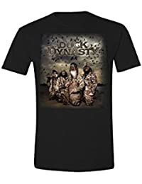 Duck Dynasty Group Shot new Official Mens Black T Shirt All Sizes