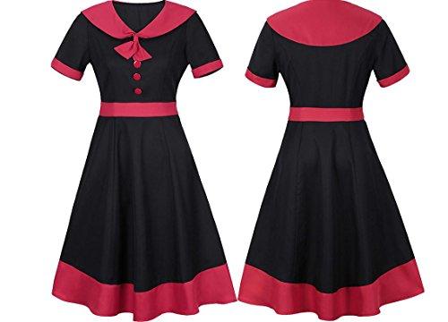 YCMDM Gonna lunga primavera e retrò nuovo vestito vestiti del pannello esterno di estate delle (Ragazze Lungo Pannello Esterno Del Denim)