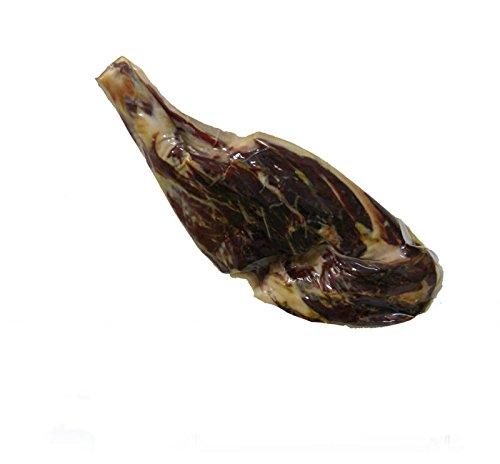 Prosciutto iberico di ghianda senza osso (pata negra). stagionamento piu di 36 meses en bodega e peso da 5 a 5,5 kg.