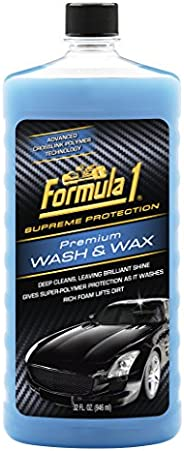 Formula 1-517377 Wash and Wax (946 ml)