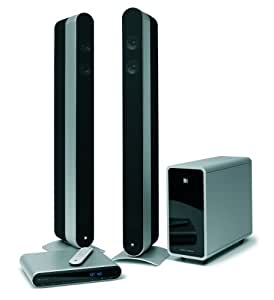 kef kit160 heimkinosystem cd dvd player scart anschluss. Black Bedroom Furniture Sets. Home Design Ideas