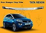 Autopearl Car Rear Bumper Step Trim Guard for - Tata Nexon