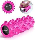 Rullo Massaggio, Foam Roller Trigger Point Esercizi Roller per la Terapia Fisica - Strumento di massaggio per Deep Tissue & Fitness