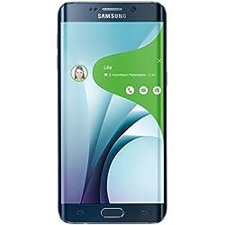 Samsung Galaxy S6 Edge Plus Smartphone débloqué 4G (Ecran: 5,7 pouces - 32 Go - Simple Nano-SIM - Android 5.1 Lollipop) Noir