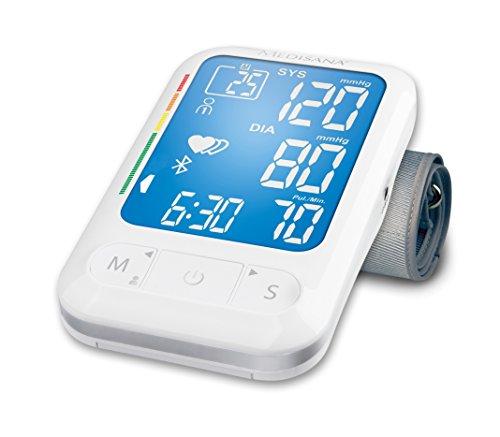 Medisana BU-550 - Tensiómetro de brazo, con transferencia de datos mediante Bluetooth a VitaDock, versión española