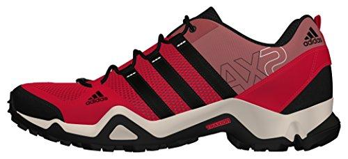 adidas Ax2 W, Chaussures de Sport Femme Rouge - Rojo (Rojray / Negbas / Rosnat)