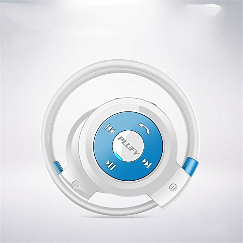 MOGUU Vogue Hochauflösende Audio - Qualität Drahtlose Bluetooth - Headset - Sport - Fitness - Doppelte Ohrring Stereo - Kopfhörer,Blau Headphones Earphones Kopfhörer