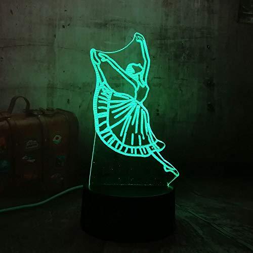 Illusion Optique Night Lights 3d Touch Led Table Bureau