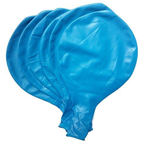 Baanuse Globos gigantes 36' en Azul 6pcs