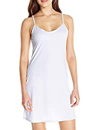 OVERMAL Robe de Femme sans Bretelles, La Mode des Femmes Femmes La Robe  sans Manches Au Dessus du Genou en Vrac Solide Robe… b6d53d3aec1
