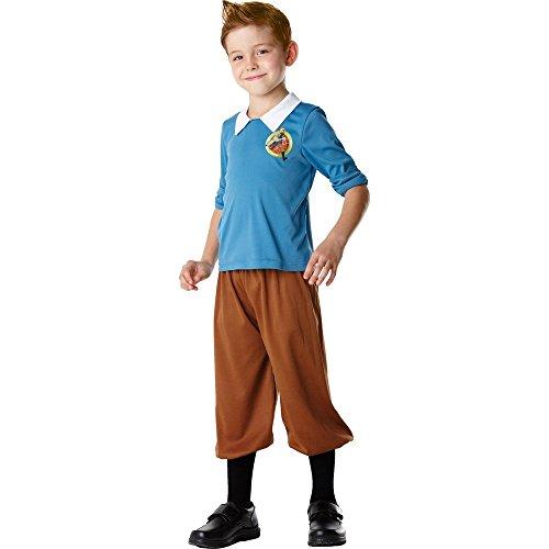 Tim und Struppi™-Kostüm für Kinder - 3-4 (Und Kostüm Tim Kostüm Struppi)