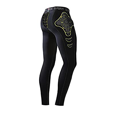 G-Form Pro-X Pants Thermal Black-Yellow M